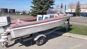 Older boat for sale. Just in time for fishing season. Edmonton Edmonton Area image 3