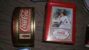 Coca Cola tins, a serving plate and a mug Cambridge Kitchener Area image 5