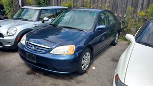 2003 Honda Civic Sedan for sale $4,600
