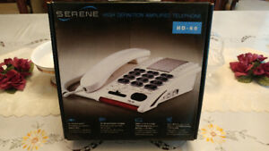 HD AMPLIFIED TELEPHONE (NEW)