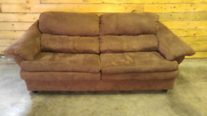 Microfiber Couch - $170 Delivered