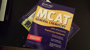 MCAT Prep Books and Medical dictionary