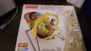 Fisher-Price Playtime Bouncer Chair - Luv U Zoo