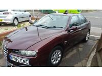 2005 Alfa Romeo 156 twin spark turismo PX IN AS IS