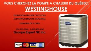 Thermopompe Westinghouse