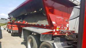 New Red river live bottom 3 axle trailer for sale
