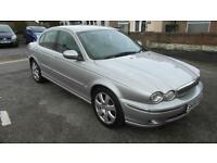 JAGUAR X-TYPE 2.5 V6 SE AWD 2004 Petrol Automatic in Silver
