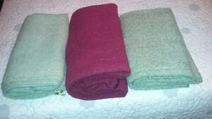 Lot de couvertes de laine
