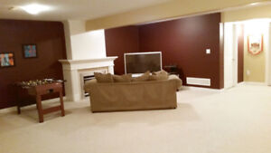 Furnished Basement Room To Rent