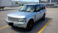 2006 Land Rover Range Rover Beige & wood SUV, Crossover