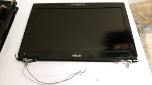 Asus g51j screen with complete lid assembly