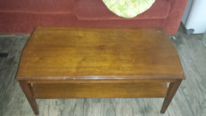 Early coffee table