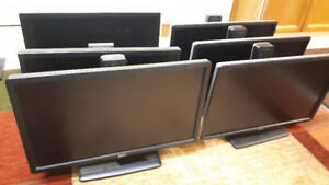 Used Dell 19, 22, 23 Inch Monitors for Sale. Excellent Cond.