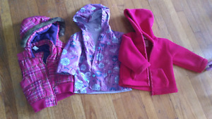 Toddler girls 18-24 month sring jackets