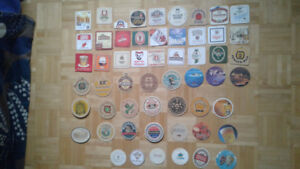 Beer coasters collection, 20 CENTURY, EUROPE...US