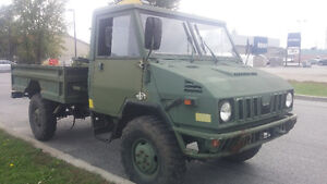 Military Pickup Truck- SOLD PENDING FUNDS