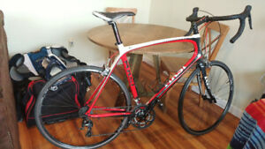 Masi PC2 XL Carbon Road Bike-Heavily upgraded, $3k value (58 59