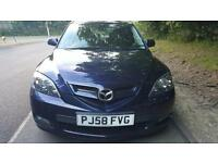 2008 MAZDA 3 TAKARA 1.6PETROL MANUAL MOT 03/2018- 2 KEYS
