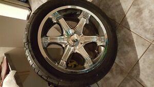Mags 20 pouces avec pneu Wanli P275 45R 20