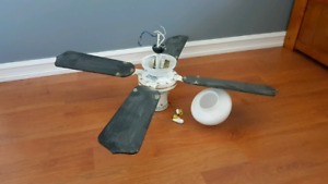 Variable speed ceiling fan - LOCATED IN LANTZ, NOT TRURO