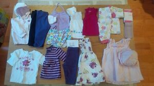 6-12 months girls clothing. $25 for 15 items