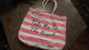 Vic secret beach bag