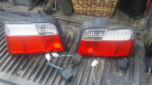 L.E.D. BMW 3 series taillights fit 93-99 see full list in ad