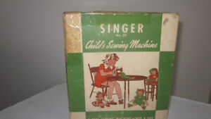 1950's Vintage Singer Model # 20 Child's Sewing Machine