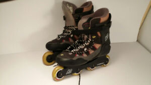 *patin a roulette - Ascent K2 CARBON- homme taille 11 -LIKE NEW*