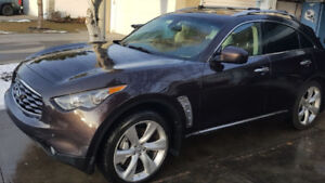 2010 Infiniti Fx50 AWD with winter tires and all seasons