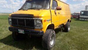 1987 gmc factory 4x4  van