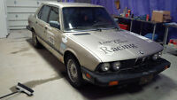 1987 BMW 535i (e28) part out