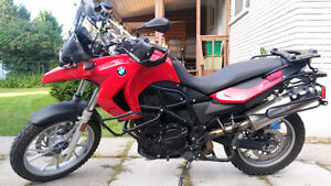 BMW 2008 F650GS à vendre 2 cylindres