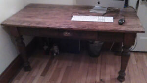 Bureau/table antique