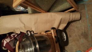 Paper for under hardwood floor
