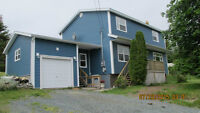 Lovely 4 Bedroom Home on Private .77 Acres in Portugal Cove, NL