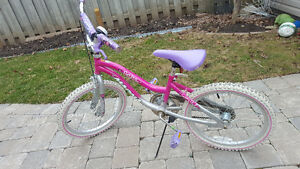 "Girls 20"" wheel bike"