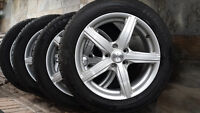 BRAND NEW INFINITY G35 WINTER TIRES 215/55/17 ON FAST ALLOY RIMS