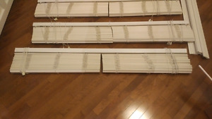 Blinds- High End Wood Faux Blinds