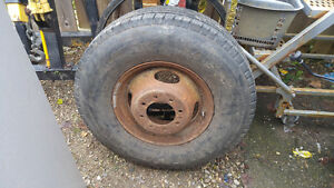 Dually rim and tire LT235 / 65 R16 FORD GM DODGE