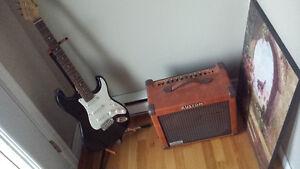 Guitar et ampli Gatineau Ottawa / Gatineau Area image 1