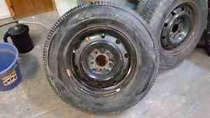 Set of 15inch 4 tires and rims  Kitchener / Waterloo Kitchener Area image 1