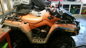 2008 can am outlander 800