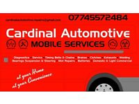 Cardinal Automotive Mobile Mechanic