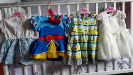 Baby girl bundle dresses