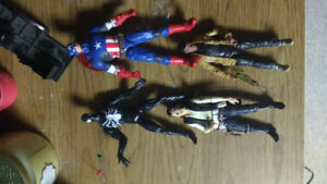 Action figures to trade