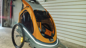 Via Velo Bike Trailer  / Double Stroller