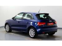 2014 Audi A1 1.4 TFSI Sport (140PS) Petrol blue Manual