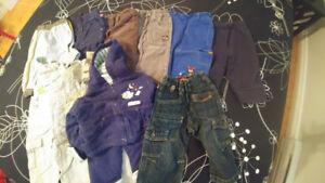 Lot vêtements garçon 0-12 mois – partie 2