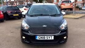 2018 Ford KA Plus 1.2 85 Zetec Black Edition 5dr Manual Petrol Hatchback